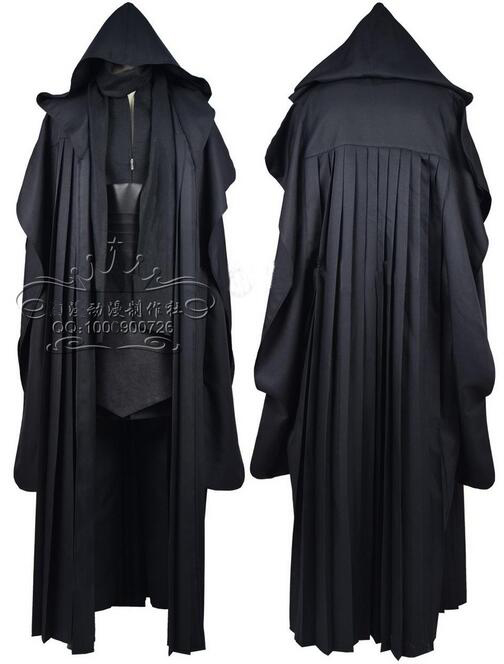 Star Wars Darth Maul Tunic Robe Uniform Cosplay Costume CO241