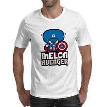 Melon Head Captain T Shirt Design Cool Fashion T-shirt Novelty Skate Funny Unisex Tee