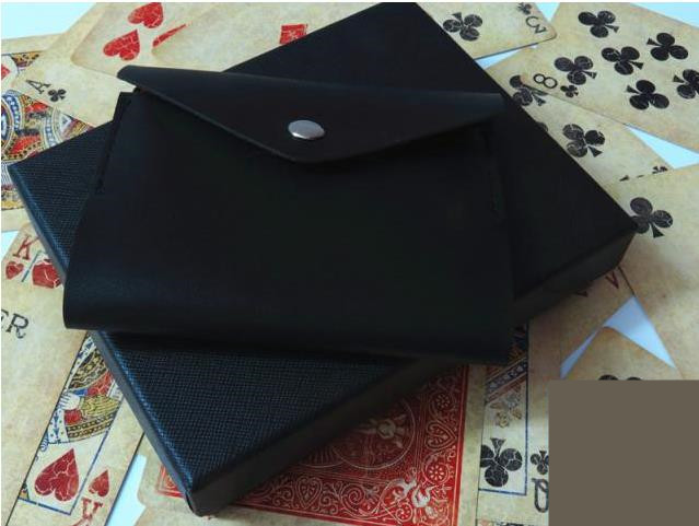 Free shipping! The Maric Wallet by Mr. Maric,close up magic,stage magic trick ,mentalism,Accessories,illusions,Fun Magic