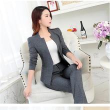 New Women's Suit Set Fashion Hotel Office Wear Two Piece