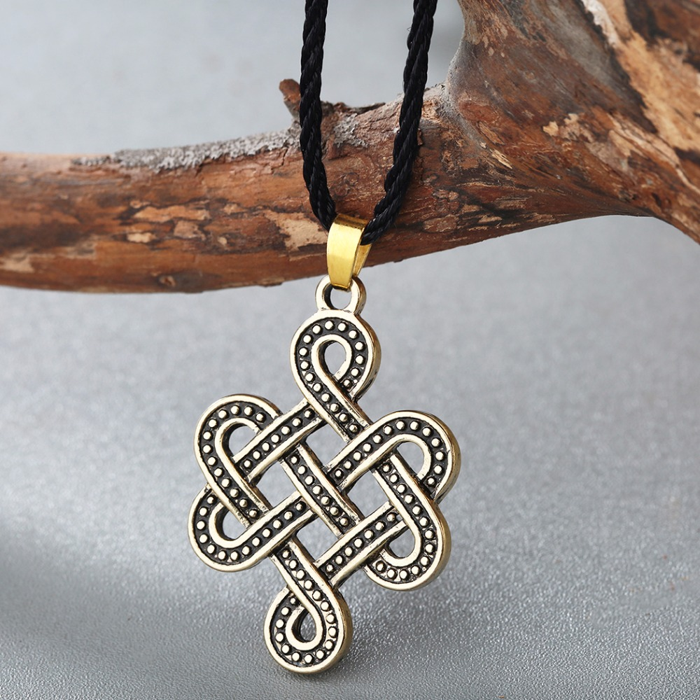Chengxun irish vintage necklace celtic eternity knot pendant chengxun irish vintage necklace celtic eternity knot pendant infinity jewelry in rune pagan norse viking slavic amulet in pendant necklaces from jewelry buycottarizona Image collections