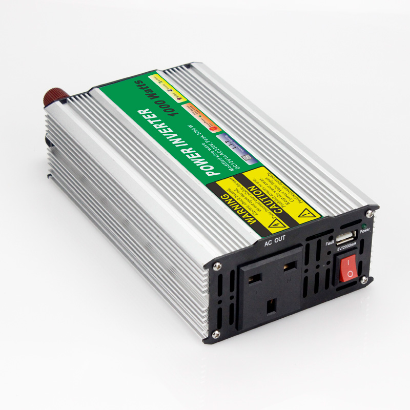 1pcs  Modified Sine Wave DC 24V to AC 110V or 220V 1000W Car Power Inverter Converter Power Solar inverters 1pcs modified sine wave dc 12v to ac 110v or 220v 1000w car power inverter converter power solar inverters