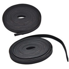 1M Open End RepRap GT2 Timing Belt 6mm Wide 2mm Pitch 2GT For Pulley 3D Printer FF