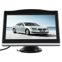 Brand New Brand New Super 5 Inch TFT LCD Screen 480 x 272 HD Digital Color Car Rear View Monitor + E306 18mm Color Car Camera