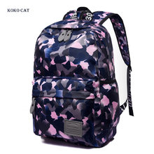 купить Fashion Plaid Canvas Backpack Students School Bag For Teenage Girls Boys Printing Rucksack Female Bookbag Mochilas for college дешево