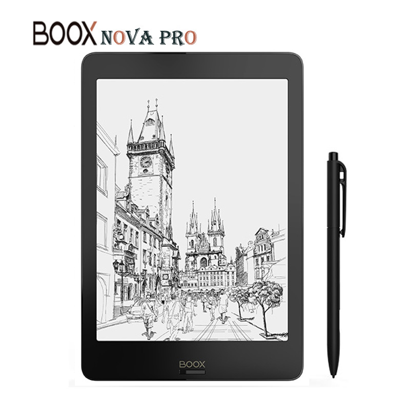 BOOX NOVA PRO eBook Reader The First Versatile eReader 2G 32G Contains Dual Touch and Front