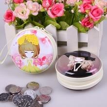 QZH Cartoon Mini Coin Purse Princess Girls font b Key b font Case font b Wallet