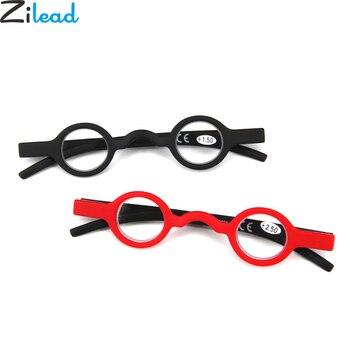3bfbccce75 Zilead Retro pequeño marco gafas de lectura ultraligero claro lente gafas  de presbicia gafas marco Unisex para mayor regalos