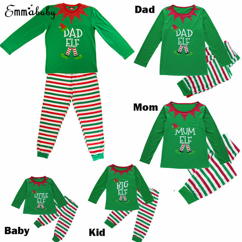 Detail Feedback Questions about Family Matching Christmas Pajamas Set Men  Women Baby Kids Sleepwear Nightwear Pjs Outfits Clothing Sets on  Aliexpress.com ... 18831fc56