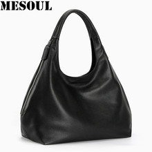 100% ของแท้หนัง hobo กระเป๋าสำหรับผู้หญิงไหล่กระเป๋าออกแบบกระเป๋าถือคุณภาพสูงหญิง Crossbody กระเป๋าด...