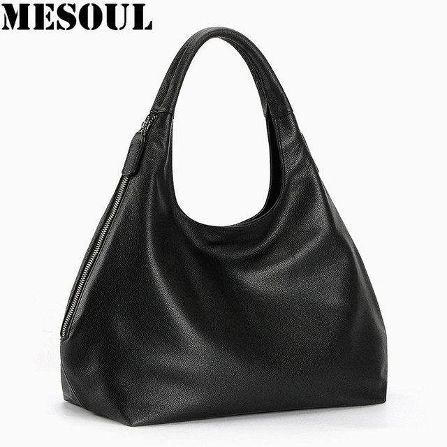 100% Genuine leather hobo bags for Women Shoulder Bag Designer Handbags  High Quality Female Crossbody Bag Luxury top-handle bags fcde6717d72f4