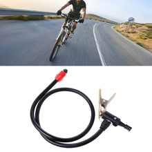 High Quality Bike Tools Bicycle Tyre Tire Hand Air Pump Inflator Replacement Hose Tube Rubber Tool