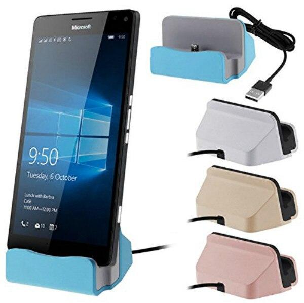 USB Type C Cable Charger Dock Station Desktop Stand For Xiaomi Mi4c Mi5 Lumia 950 950 XL Huawei P9 Nexus 5X 6P Letv OnePlus