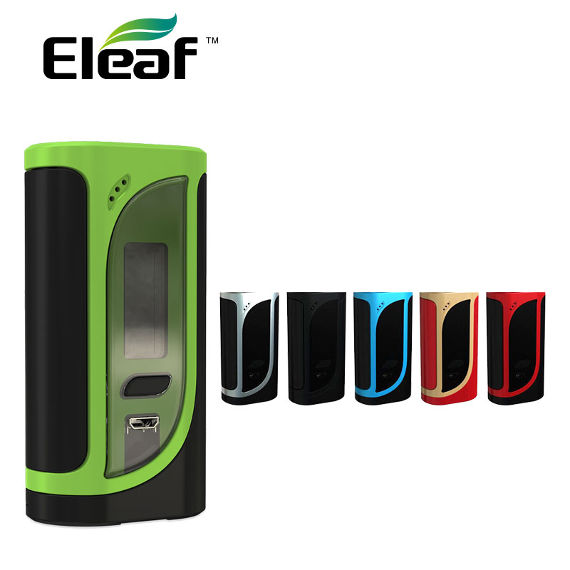 100% Original 220W Eleaf iKonn 220 MOD fit Eleaf Ello Tank Atomizer Powered by Dual 18650 Battery 2018 New Vapor VS Alien MOD original eleaf ikonn total mod 50w match ello mini or ello mini xl electronic cigarette dual circuit protection vape mod ikonn