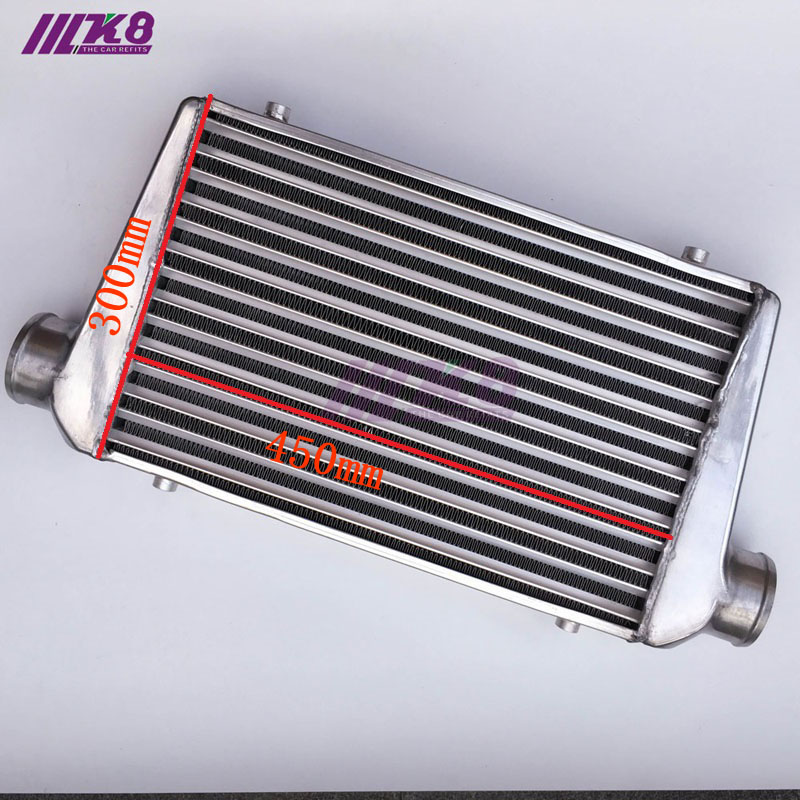 450*300*76mm Universal Turbo Intercooler bar&plate OD=76mm Front Mount intercooler Radiators & Parts     - title=