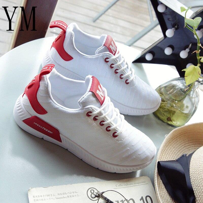 Air Chaussures Up Femmes 018 Femme Respirant Vulcanisé Espadrilles En Plein Mesh Tenis Casual Léger Dentelle Chaude Feminino 4ZZrnq5