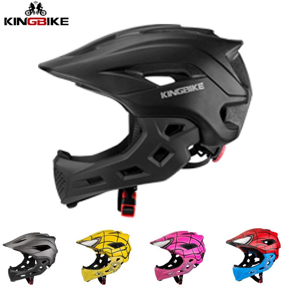 KINGBIKE Kids Bike Helmet Children s Full Face Sport Helmets 5 10 Child MTB Bicycle Cycling