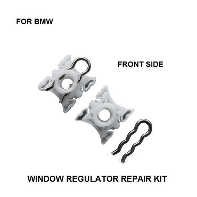 X2 Plastic Slider Clips For Bmw Z4 Z3 Window Regulator Repair Kit