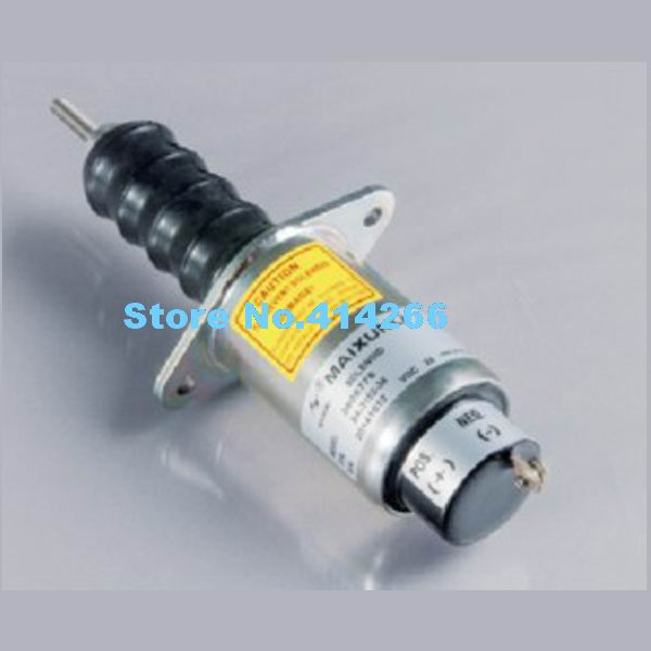 Shutdown Stop Solenoid Valve 3906776 SA-3151 24V For Engine 6CTA 8.3L solenoid 02 332169 for hydraulic solenoid directional valve 12v