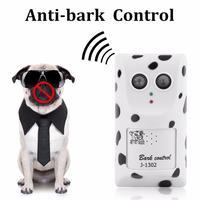 Cães Anti Latido ultra-sônica Repeller Dispositivo de Controle Humanamente Anti No Bark Stop Barking Dog Silencer