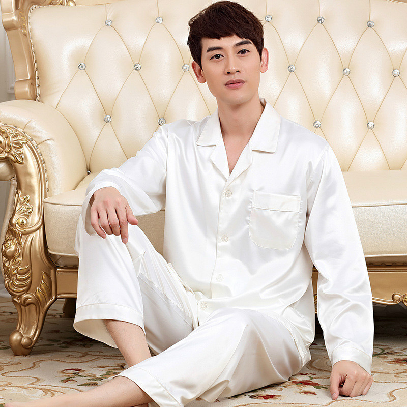 Compare Prices on Mens White Silk Pajamas- Online Shopping/Buy Low ...