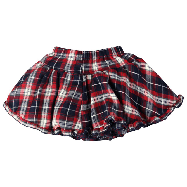 Girl's  mini Party Jeans tutu Skirts children kids baby plaid four-layer pleated festival gift clothing MQW-4568A