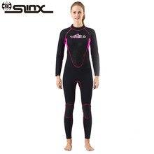 Slinx Women Full Body Scuba Dive Wet Suit 3mm Neoprene Wetsuits Winter Swim Surfing Snorkeling Spearfishing Water ski