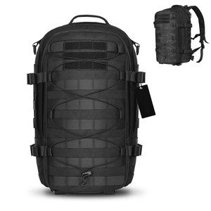 Outdoor Tactical Backpack Military Assault Pack Army Molle Bug Out Bag 1000D Nylon Daypack Rucksack Bag for Camping Hiking