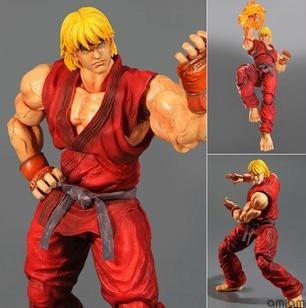 ФОТО street fighter 4  ken play art kai action figure toys