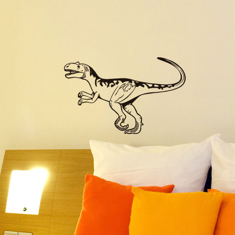 DCTOP Cartoon Dinosaur Wall Sticker For Kids Room Funny Decal ...