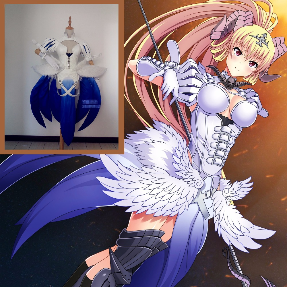 Seven Deadly Sins Lucifer Cosplay Costume Costume Made