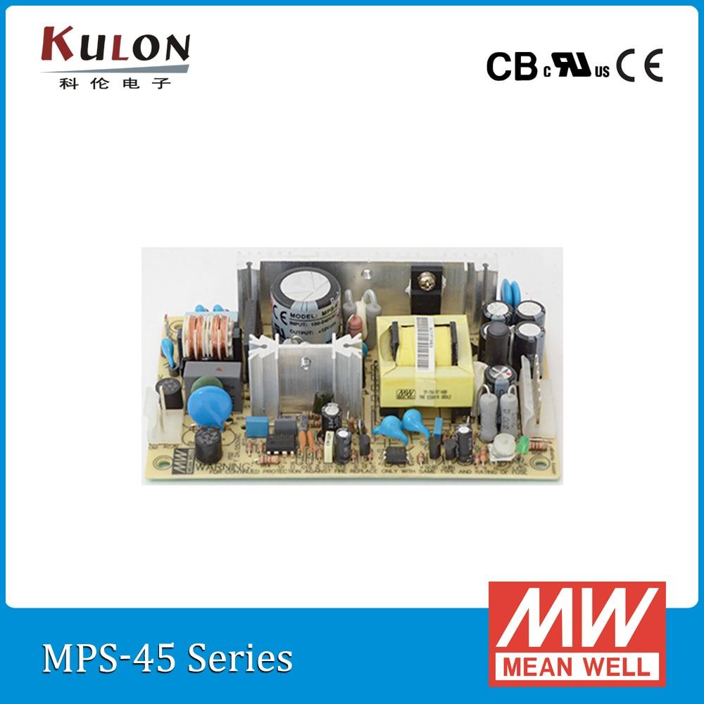 ̀•́ Original mean well 45.6 W 24 V 1.9A PCB fuente de Alimentación ...