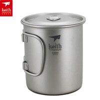 Keith 900ML Titanium Mug Camping Mug Outdoor Cup 121g Ti3209