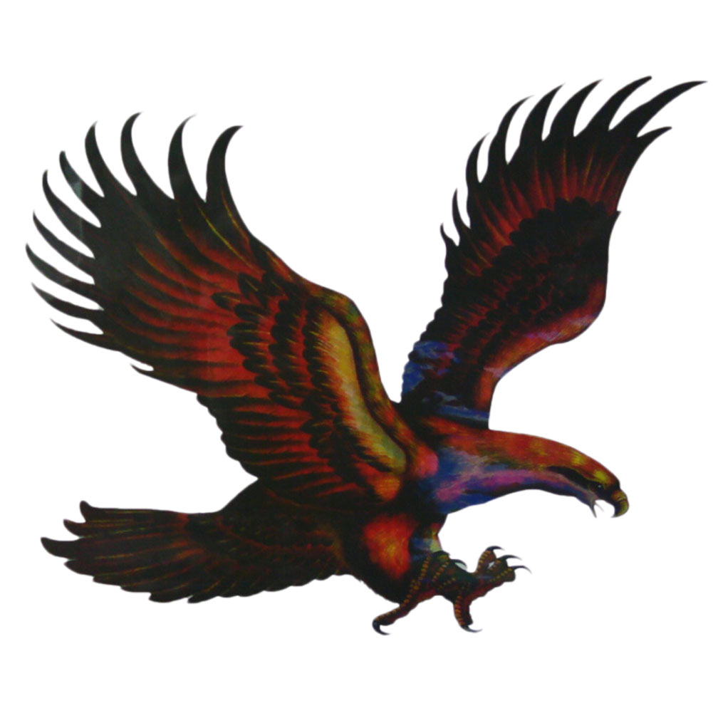 Hot Sell Car Stickers Eagles Colorful Creative Decals For Doors Printed Stickers Accessories Car Styling