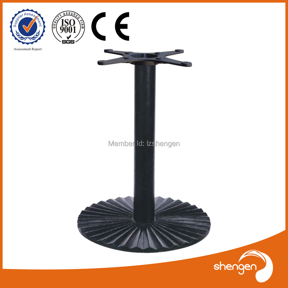 HD070 Universal Patio Furniture Parts Metal Wrought Iron Table Legs  Furniture Accessories Pedestal For Table Base In Furniture Legs From  Furniture On ...
