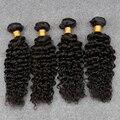 Peruvian virgin hair 4pcs Kinky Curly Virgin Hair 8A Slove Rosa Hair Products annabelle human Hair Weave Bundles deep wave