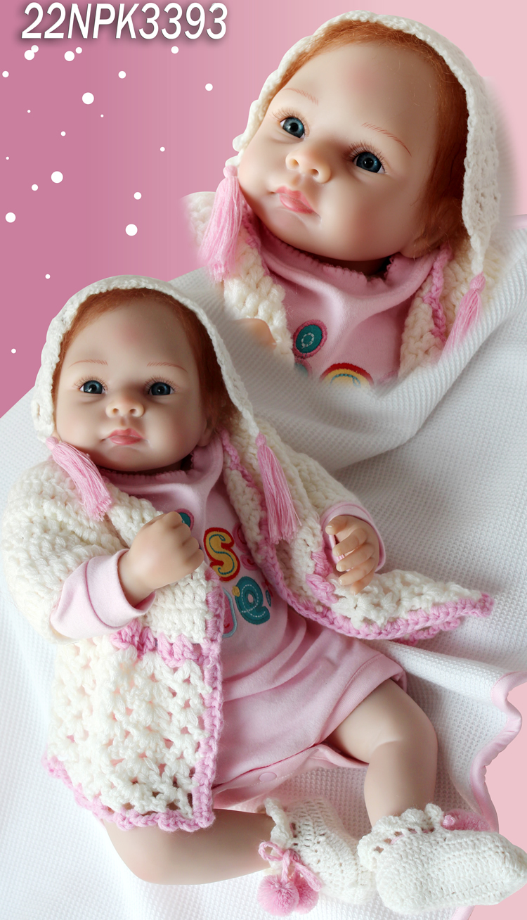 Здесь можно купить  2016 NEW unique design hot sale very soft silicone vinyl fashion doll realistic snow doll Christmas gift to friends  Игрушки и Хобби