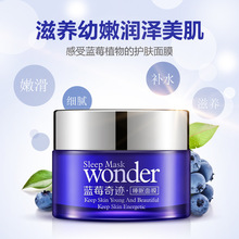 Blueberries Miracle Anti Wrinkle Sleep Mask Facial Mask Face Care Acne Treatment Whitening Cream Skin Care Firming Moisturizing
