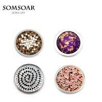 5pcs/lot 2017 Newest 33mm Disc Large Coin for My Coin Holder Frame Pendant My Coin Jewelry