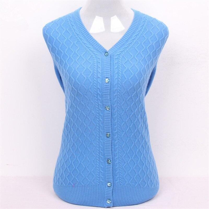 100% chèvre cachemire plaid tricot femmes de mode épais H-droite cardigan chandail ciel bleu 5 couleur S/3XL