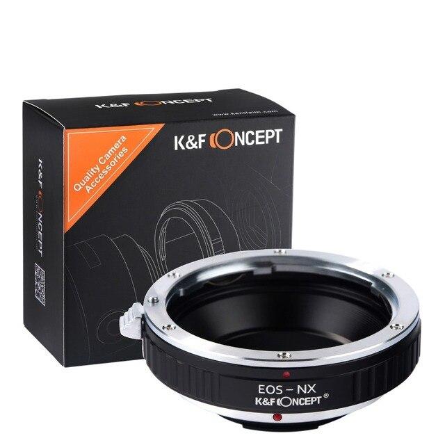 Montagem da lente anel adaptador para canon eos ef lens para samsung nx lente Corpo Da Câmera EF-NX NX5 NX10 NX100 NX200 NX300 NX1000 Câmeras SLR