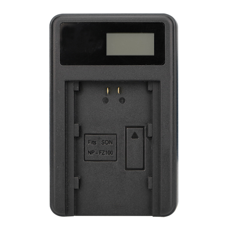 NP-FZ100 NP FZ100 LCD USB Battery Charger for Sony NP-FZ100, BC-QZ1 Alpha 9, A9, Alpha 9R, Sony A9R Sony Alpha 9S durapro 4pcs np f970 np f960 npf960 npf970 battery lcd fast dual charger for sony hvr hd1000 v1j ccd trv26e dcr tr8000 plm a55