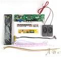 HDMI USB VGA AV ТВ Аудио Контроллер Доска + Инвертор + Lvds кабель + Пульт Дистанционного Управления + Динамик для LP154WX4 1280x800 канал 6 бит ЖК-ДИСПЛЕЙ дисплей