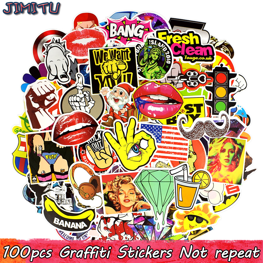 50 Pcs Green Sticker Classic Cartoon Diy Toy Waterproof Stickers For Travel Case Laptop Bicycle Fridge Skateboard Decals Sticker Classic Toys