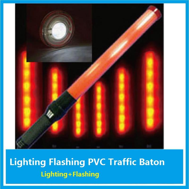 54cm Lighting LED Traffic Rod Warning Lamp Lighting Fluorescent Rod Relief Banton