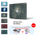 "Smashed Glass Hard Plastic Laptop Case For Mac Book Pro 13 Cover 13.3 13"" Inch Case For Laptop Cover Apple Macbook Pro Air"