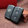 Substituição 3 Botão Caso Para Toyota Avensis Verso Prius Crown Inteligente Chave Shell Remoto