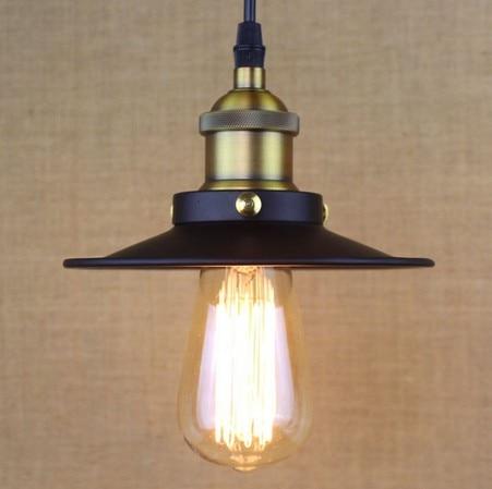 Loft Iron Art Droplight Industrial Vintage Lighting Pendant Light Fixtures For Dining Room Bar Hanging Lamp Lamparas Colgantes