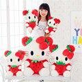Fancytrader мультфильм прекрасный плюша большой гигант hello kitty kt кошка плюшевые игрушки куклы 65 см Рождественский подарок на день рождения