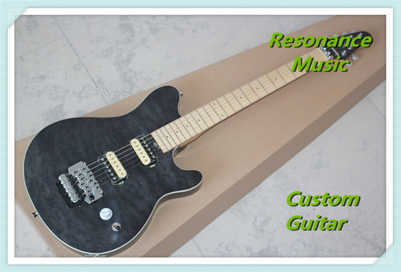 Custom Shop Music Man Axis Guitar Chinese With Maple Fretboard Custom Guitar & Kit Available new arrival custom 22 lp guitar with tin top custom guitar & kit available
